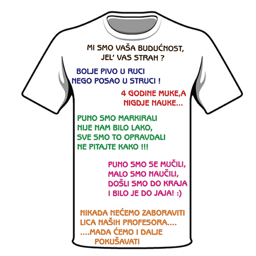 majice za norijadu,majice za maturante